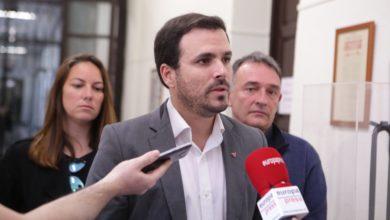 """Photo of Alberto Garzón valora que lo ocurrido en Cataluña estos días obedece a una """"clara sobreactuación"""" de quienes prefieren """"dejar de lado las cuestiones importantes para las familias trabajadoras"""""""