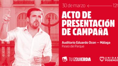 Photo of Acto de presentación de campaña en Málaga – 30/03/2019