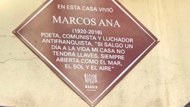 Photo of Merecido homenaje público a Marcos Ana en la que fue su casa en Madrid como 'poeta, comunista y luchador antifranquista'