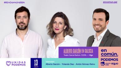 Photo of Acto de En Común Unidas Podemos en Vigo – 13/04/2019