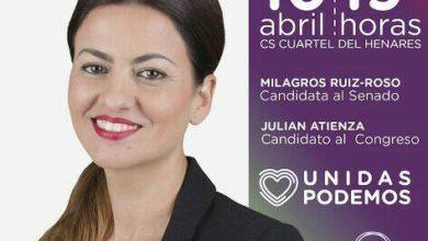 Photo of Acto de Unidas Podemos en Guadalajara – 10/04/2019