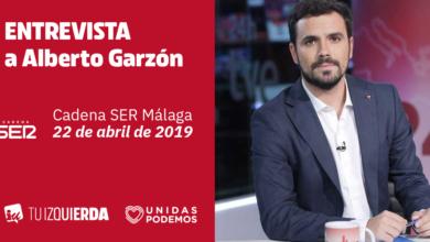 Photo of Alberto Garzón: «En la costa malagueña han primado los intereses especulativos y la corrupción frente a los servicios públicos y un modelo ecológicamente sostenible»