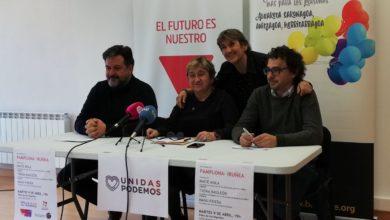 """Photo of IU de Navarra y Batzarre llaman a la izquierda a """"movilizarse para defender el autogobierno navarro en un contexto de recentralización autoritaria"""""""