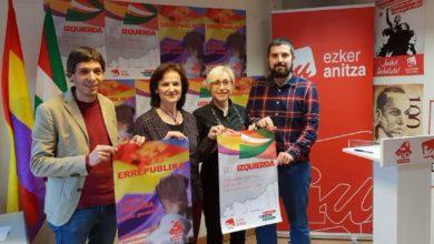 Photo of Alberto Garzón conmemora el domingo en Eibar el aniversario de la República en el marco de la campaña estatal de Unidas Podemos