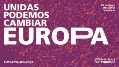 Photo of Presentación de la candidatura para las elecciones al Parlamento Europeo 2019