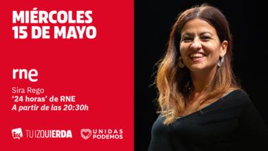 Photo of Sira Rego: «Cuando hay un choque de legitimidades entre las normas y las necesidades del pueblo, hay que llegar hasta el límite y desobedecer»