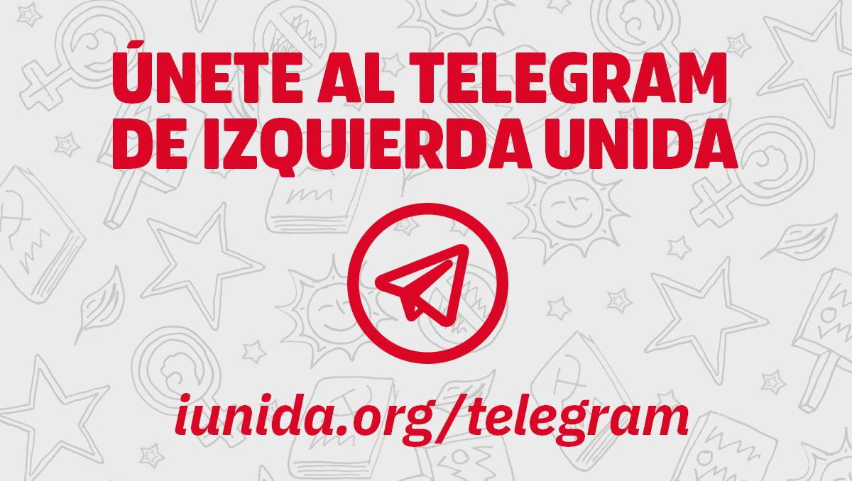 Únete al Telegram de IU
