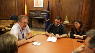 Photo of IU muestra todo su apoyo a Nico Cué, candidato del Partido de la Izquierda Europea a presidir la Comisión Europea, durante una reunión en Madrid