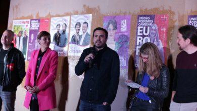 Photo of Alberto Garzón: «Vamos a parar a la derecha y a construir un espacio de justicia, solidaridad y fraternidad»