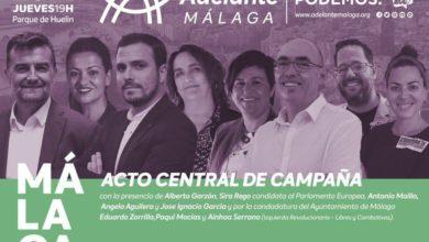 Photo of Acto de campaña en Málaga – 23/05/2019