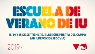 Photo of Alberto Garzón inaugura mañana en San Ildefonso (Segovia) la Escuela de Verano 2019 de Izquierda Unida