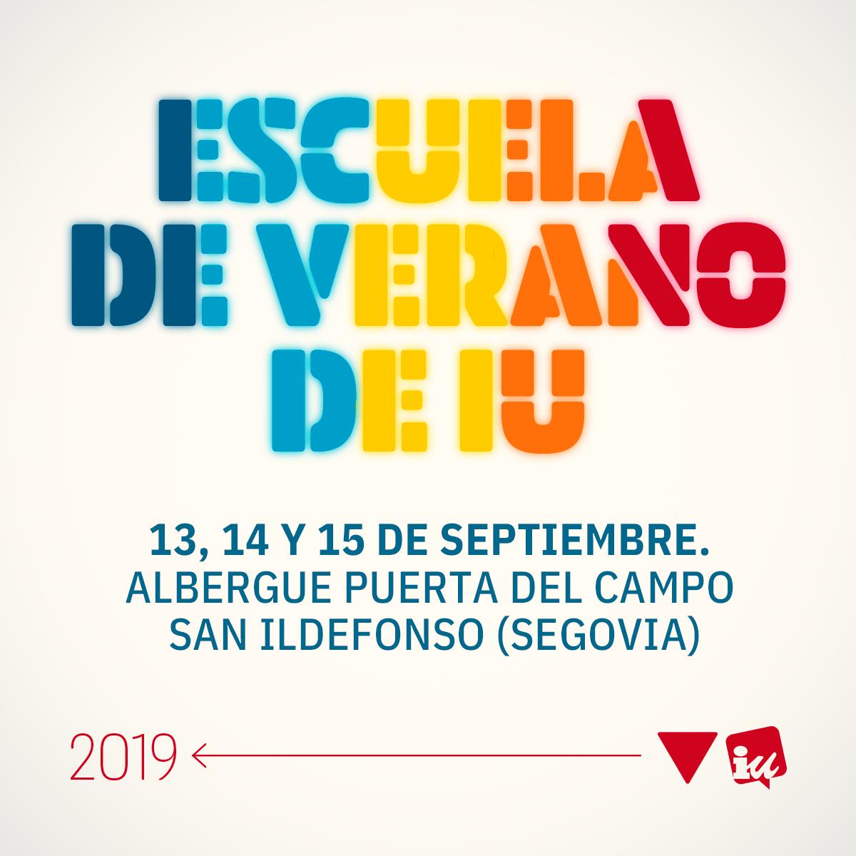 Consulta los vídeos de la Escuela de Verano 2019