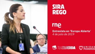 Photo of Sira Rego: «Queremos que el Parlamento Europeo dé amparo y cobertura legal a toda persona y todo colectivo que salve vidas en el Mediterráneo»