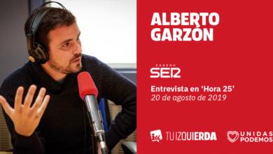 Photo of Alberto Garzón: «La propuesta de Unidas Podemos es muy flexible y para nada inviable. Lo realmente inviable es que el PSOE gobierne en solitario sin apoyo de ningún tipo»