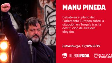 Photo of Manu Pineda: «Activistas de izquierda, feministas, maestros críticos… Erdogán encarcela en Turquía a cualquier forma de disidencia con el silencio cómplice de la UE»
