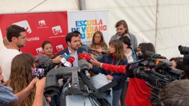 """Photo of Alberto Garzón cree que """"queda tiempo"""" para un acuerdo y pide al PSOE que """"haga un último esfuerzo y atienda unas demandas lógicas"""" a partir de una negociación directa entre Iglesias y Sánchez"""