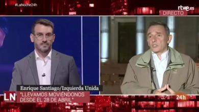 """Photo of Enrique Santiago: """"Cada vez que hemos cedido nos han puesto un nuevo impedimento, pero seguimos abiertos a un acuerdo que evite las elecciones""""."""