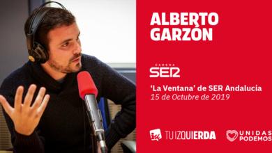 Photo of Alberto Garzón: «Ninguna sentencia va a solucionar el problema en Cataluña. Hay que dejar de pensar en arañar votos y pensar en encontrar soluciones»