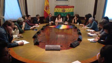 """Photo of Enrique Santiago anima al Gobierno español y a la UE a """"participar en el proceso de auditoría abierto por Bolivia y despejar cualquier duda sobre el resultado electoral"""""""
