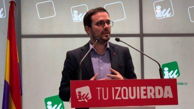 """Photo of Alberto Garzón llama a """"restablecer el diálogo"""" para abordar el conflicto catalán ante la """"irresponsabilidad"""" de Sánchez o la actuación de Torra """"que es parte del problema"""""""
