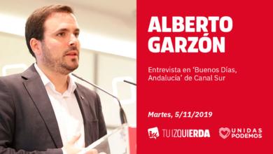 Photo of Alberto Garzón: «Los platos rotos de la crisis los han pagado las familias trabajadoras. Si hay que hacer nuevos recortes, que sean por arriba»