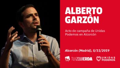 Photo of Alberto Garzón: «La hoja de ruta del PSOE es aplicar más neoliberalismo de la mano de PP y C's»