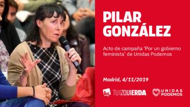 """Photo of Pilar González: """"El gobierno feminista que queremos tiene que acordarse de la España vaciada, de las mujeres del mundo rural"""""""