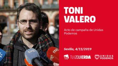 Photo of Toni Valero: «Nuestro enemigo son la CEOE y la banca; no las mujeres, los parados ni las inmigrantes»