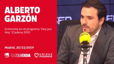 Photo of Alberto Garzón: «La derogación de la reforma laboral es una necesidad de nuestro país»