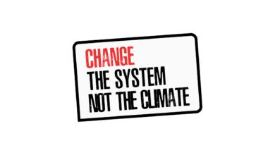 Photo of El capitalismo está matando al planeta. Cambia el sistema, no el clima