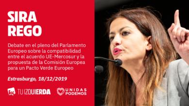 Photo of Sira Rego: «Con el Pacto Verde Europeo, lo que quiere la Comisión Europea es no dejarse atrás a ninguna de las grandes empresas que están destrozando el planeta»