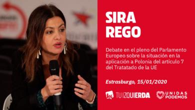 Photo of Sira Rego: «Debemos recuperar el espíritu de la Europa antifascista y que la Eurocámara deje de normalizar el discurso de odio de la extrema derecha»