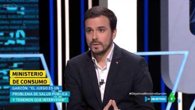 """Photo of Alberto Garzón: """"Con las casas de apuestas estamos ante un verdadero problema de salud pública y tenemos que intervenir"""""""