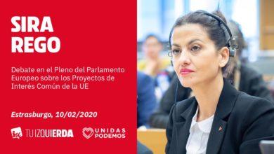 Photo of Sira Rego: «La UE debe destinar el dinero público a proyectos que sirvan para desarrollar de forma sostenible nuestros territorios, no a enriquecer al oligopolio como se pretende hacer con la interconexión del Golfo de Bizkaia»