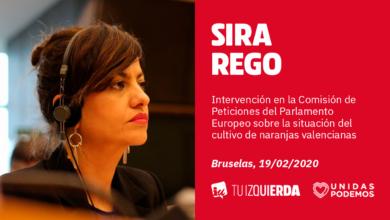 Photo of Sira Rego: «La Comisión Europea no puede mostrar preocupación por el sector agrario cuando después pretenden obviar el daño que provocan los tratados de libre comercio»