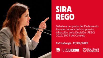 Photo of Sira Rego: «Es lamentable ver también en la Eurocámara a C's hacer lo mismo que en España: dedicarse al chascarrillo, al veto fanático y a hacer piña con sus amigos de extrema derecha»