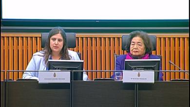 """Photo of Roser Maestro destaca """"nuestra oposición total a las guerras y a las armas nucleares"""" durante el encuentro en el Congreso con la Premio Nobel de la Paz Setsuko Thurlow"""