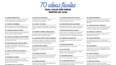 Photo of 70 ideas fáciles para jugar con peques dentro de casa – Estación Bambalina