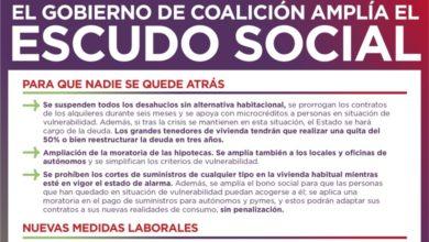 Photo of Información sobre las medidas del Gobierno de Coalición para ampliar el Escudo Social contra la crisis del COVID-19