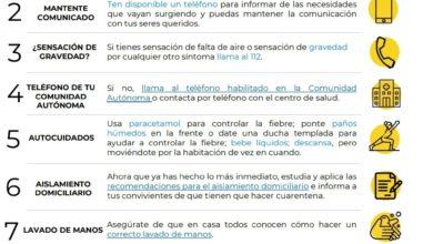 Photo of Decálogo de consejos sobre cómo actuar en caso de tener síntomas de COVID-19 – Ministerio de Sanidad