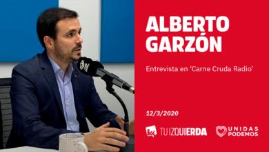 Photo of Alberto Garzón: «Hay que proteger a la población y a la sanidad pública sin caer en el alarmismo»