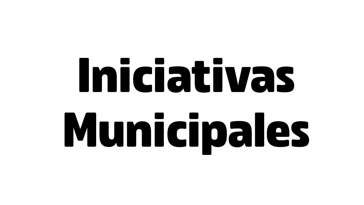 Coronavirus - Iniciativas municipales