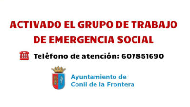 Photo of Grupo de trabajo de emergencia social para familias vulnerables – Ayuntamiento de Conil