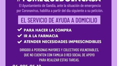 Photo of Nuevo servicio de ayuda a domicilio – Ayuntamiento de Gandía