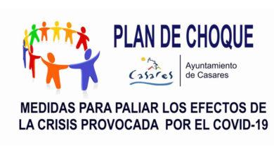 Photo of Plan de choque para paliar las consecuencias de la crisis provocada por el coronavirus – Ayuntamiento de Casares