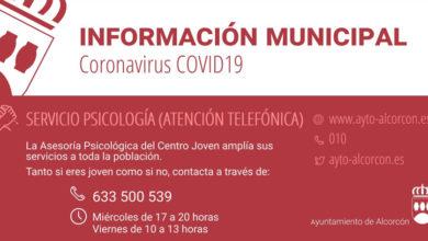 Photo of Asesoría psicológica por teléfono – Ayuntamiento de Alcorcón