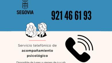 Photo of Servicio telefónico de acompañamiento psicológico – Ayuntamiento de Segovia