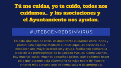 Photo of Plan Social Municipal frente al coronavirus «Utebo en red sin virus» – Ayuntamiento de Utebo