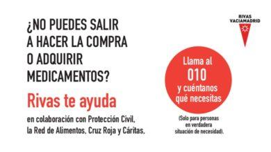Photo of Red de apoyo para compra de medicamentos o alimentación – Ayuntamiento de Rivas
