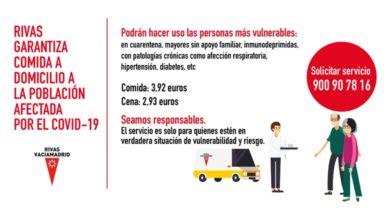 Photo of Servicio de comida a domicilio para la población afectada – Ayuntamiento de Rivas